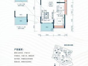 深圳星都梅沙天邸新房楼盘户型图58