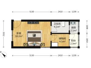 宏发世纪花园 3室2厅 88.16㎡ 精装深圳宝安区石岩二手房图片