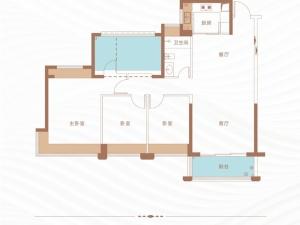 深圳丁山河畔新房楼盘户型图68