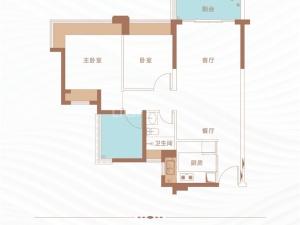 深圳丁山河畔新房楼盘户型图72