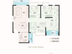 深圳锦顺名居新房楼盘户型图11