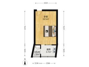 贝丽花园 1室0厅 29.1㎡深圳罗湖区翠竹二手房图片