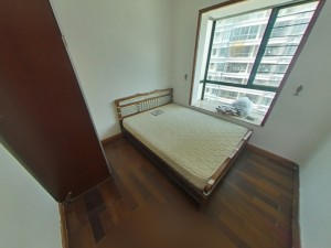 东部阳光花园 3室2厅 89㎡ 整租_东部阳光花园租房卧室图片5