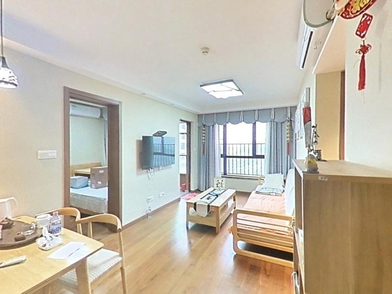 万科时代广场 2室1厅 67㎡ 整租_万科时代广场租房客厅图片1