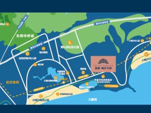 深圳星都梅沙天邸新房楼盘交通图52
