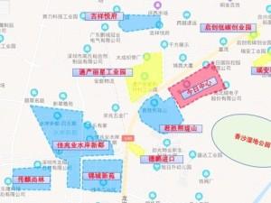 深圳今日国际新房楼盘交通图52
