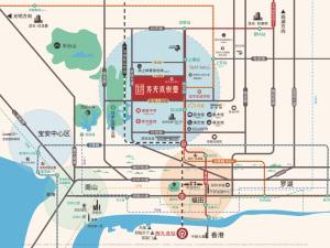 深圳龙光玖悦台新房楼盘交通图94