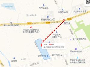 深圳豪方东园新房楼盘交通图11