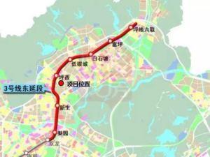 深圳凯东吉祥悦府新房楼盘交通图73