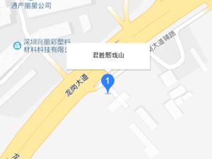 深圳君胜熙珑山花园新房楼盘交通图27